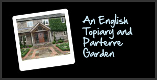 An English Topiary and Parterre Garden